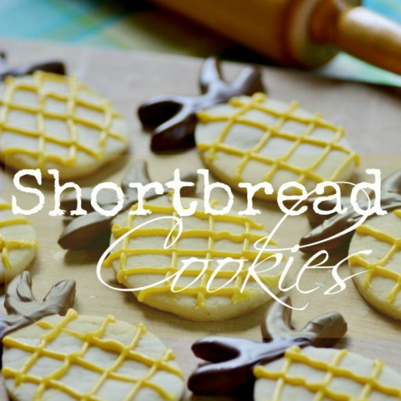 Dipped Shortbread Cookies - Surroundings by Debi