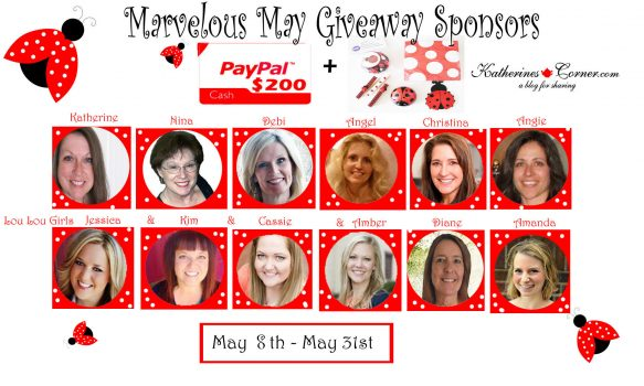 Marvelous May Giveaway Sponsors (4)