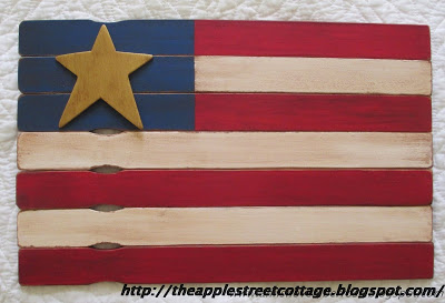 Paint stirrer flag