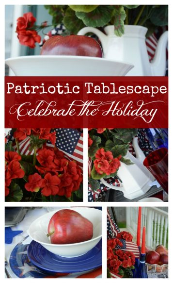 Patriotic Tabelscape - Celebrate the Holiday - Surroundings by Debi