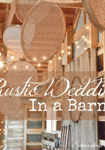 Rustic Wedding In a Barn