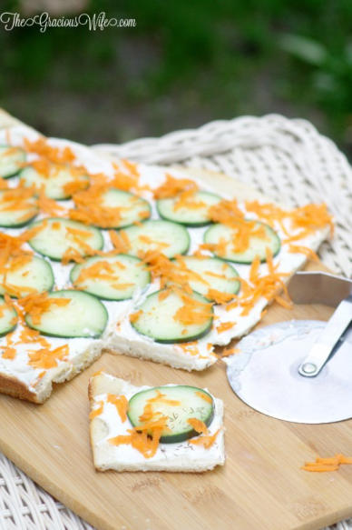 Cucumber Pizza