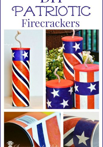DIY Patriotic Firecrackers – Adding a Patriotic Touch to Your Decorating
