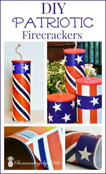 DIY Patriotic Firecrackers 2