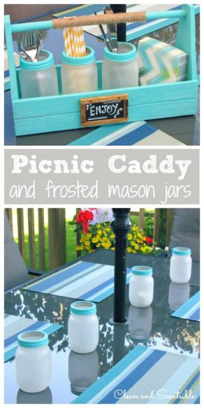 Picnic-Caddy-and-Frosted-Mason-Jars-1