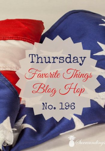 Thursday Favorite Things Blog Hop No 196