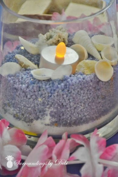 Beach Party Candle