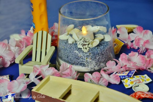 Beach Party Ideas - Centerpiece