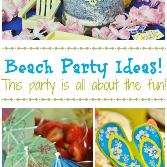 Beach Party Ideas - Surroundings by Debi