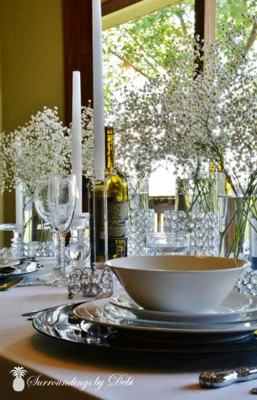 Crystal Table Place Setting