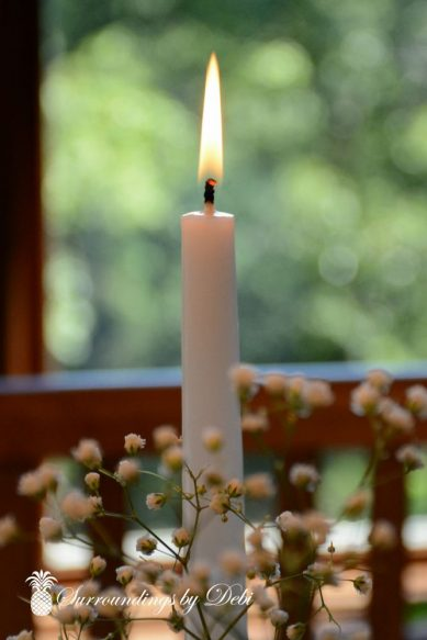 Daylight Candle