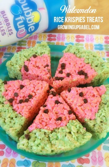 Easy-Watermelon-Rice-Krispies-Treats