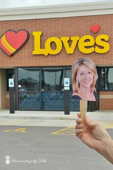 Flat Debi at Love's