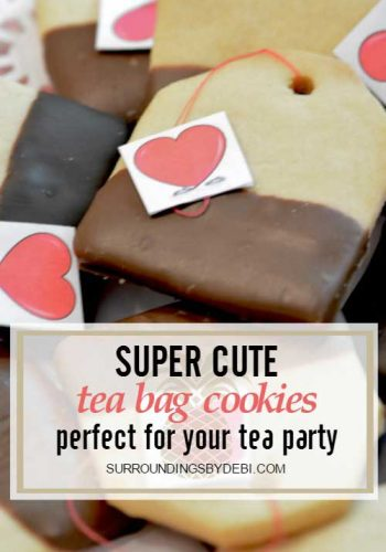 Super Cute Tea Bag Cookies