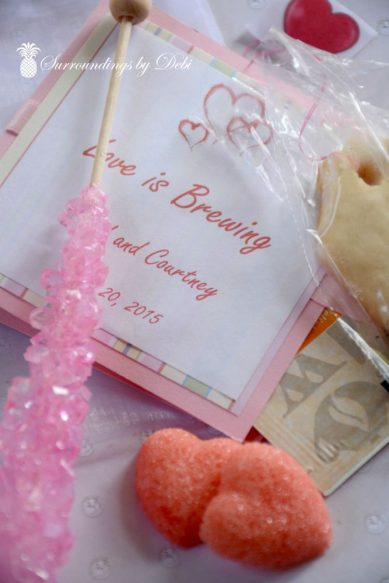 Tea Bag Cookies and Gift Items