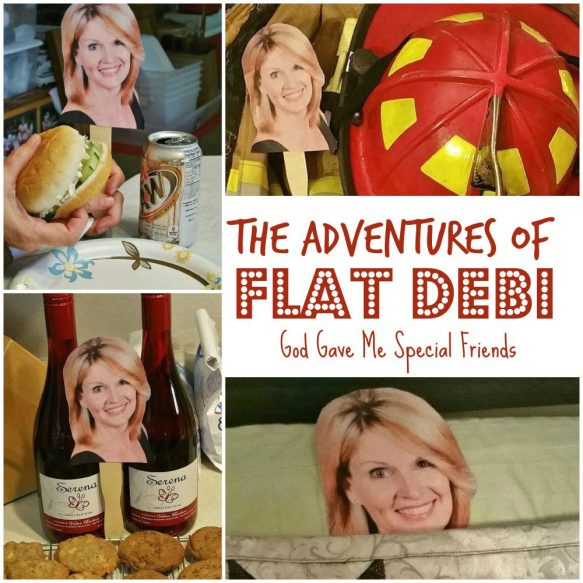 The Adventures of Flat Debi