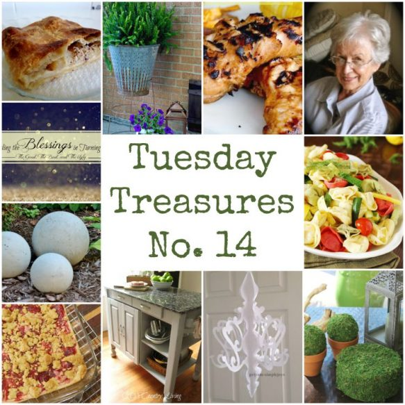 Tuesday Treasures No 14 - Surroundings by Debi