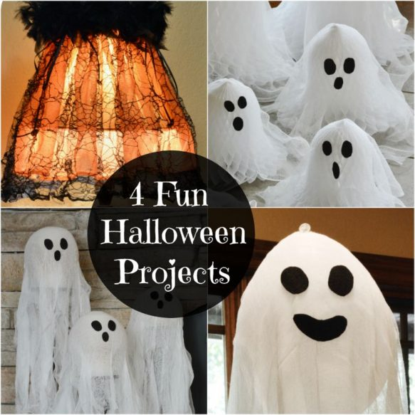 4 Fun Halloween Projects