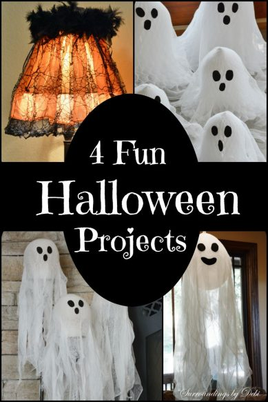 4 Fun Halloween Projects - Surroundings by Debi