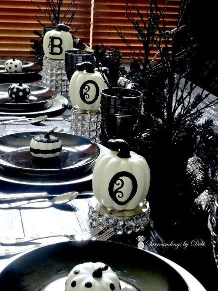 BOO on Candle Holders - Surroundings by Debi