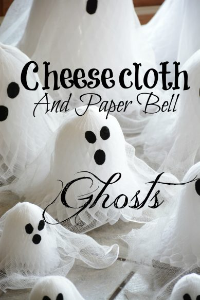 Cheesecloth and Paper Bell Ghosts Overlay