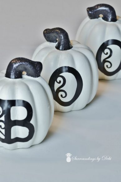 Completed BOO Pumpkins
