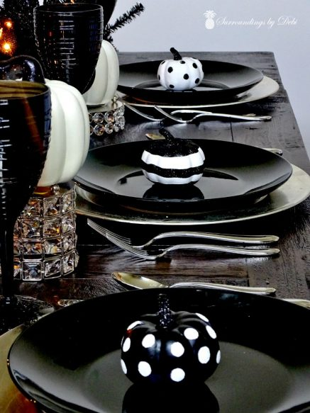 Creat a Simple Halloween Place Settings - Surrounding by Debi