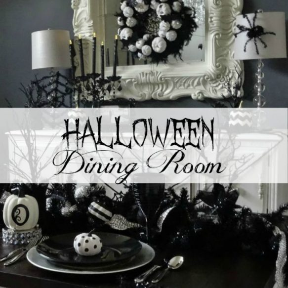 Halloween Dining Room - Surroundings by Debi