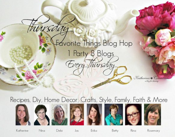 Thursday Favorite Things blog hop hostesses (2)