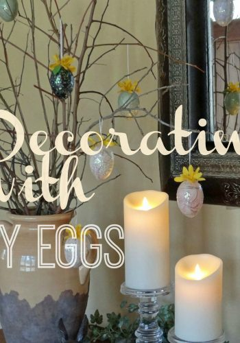 Decorating with DIY Easter Eggs