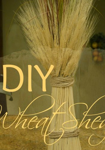 DIY Wheat Sheaf – Great Fall Decor!