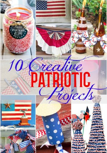 10 Creative DIY Patriotic Decor Projects