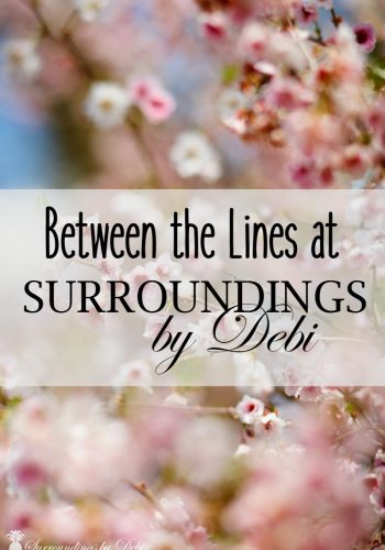 Between the Lines – Surroundings by Debi