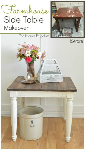 Farmhouse Side Table Graphic