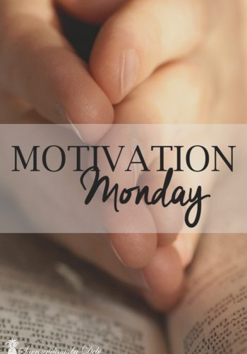 Motivation Monday on Surroundings by Debi