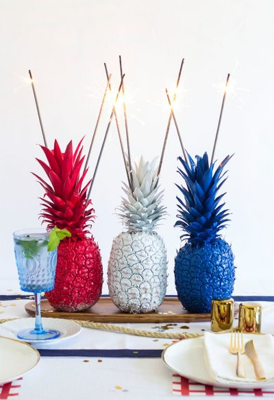Pineapple-Sparkler-Center-Pieces-9