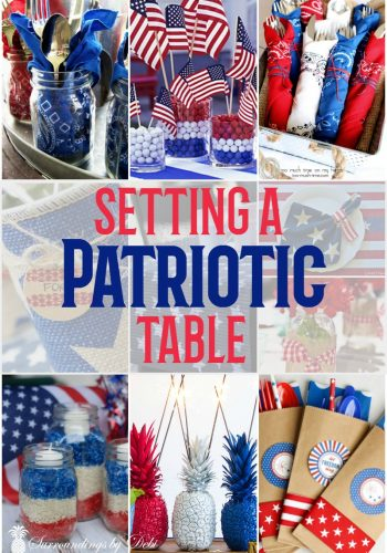 Patriotic Table Ideas