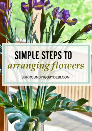 Simple Steps to Arranging Flowers