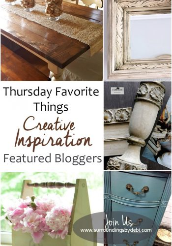 Thursday Favorite Things Link Party No 244