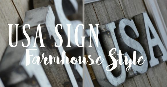 USA Sign - Farmhouse Style - Facebook