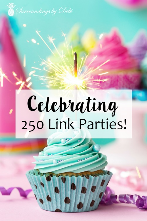 Celebrating 250 Link Parties