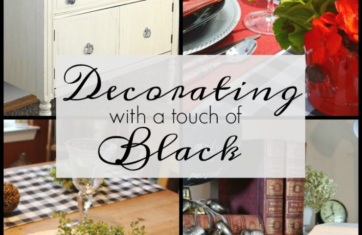 Decorating with a Touch of Black