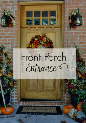 Fall Porch Decor – A Warm Welcome!