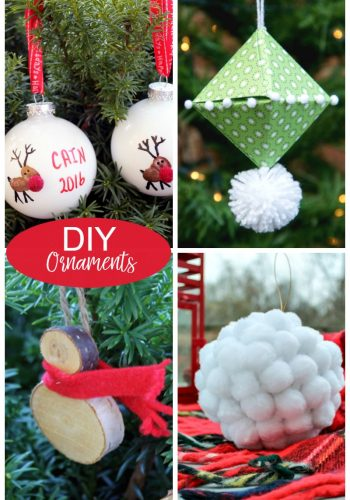Four Fun DIY Christmas Ornaments