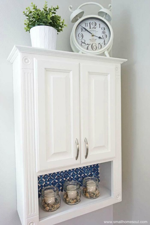 FUN DIY Projects - Dollar Store Backsplash Tutorial