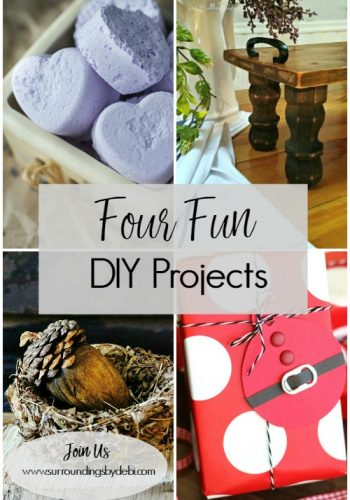 4 Fun DIY Projects – Simple and Easy