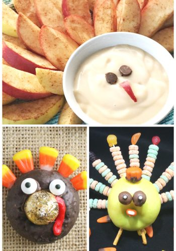 Fun Turkey Treats for the Little Ones