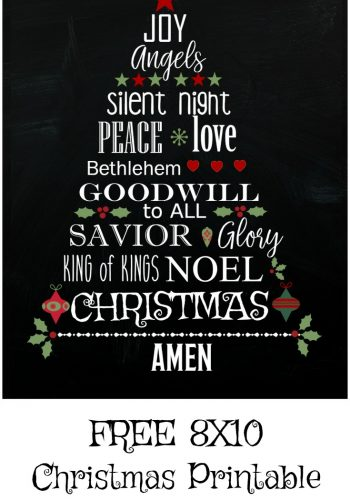 Free Christmas Printable – 3 Ways