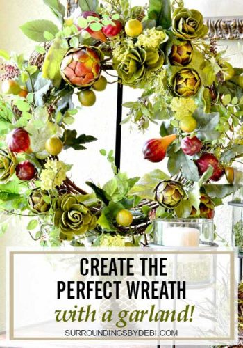 DIY Artichoke Garland Wreath – Super Simple!